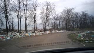 Свалка(Свинство на дороге с Агробазы в Приазовское..., 2014-03-20T06:58:32.000Z)