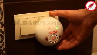 Электромагнитный отпугиватель тараканов AO-201A от Хеппи Смайл