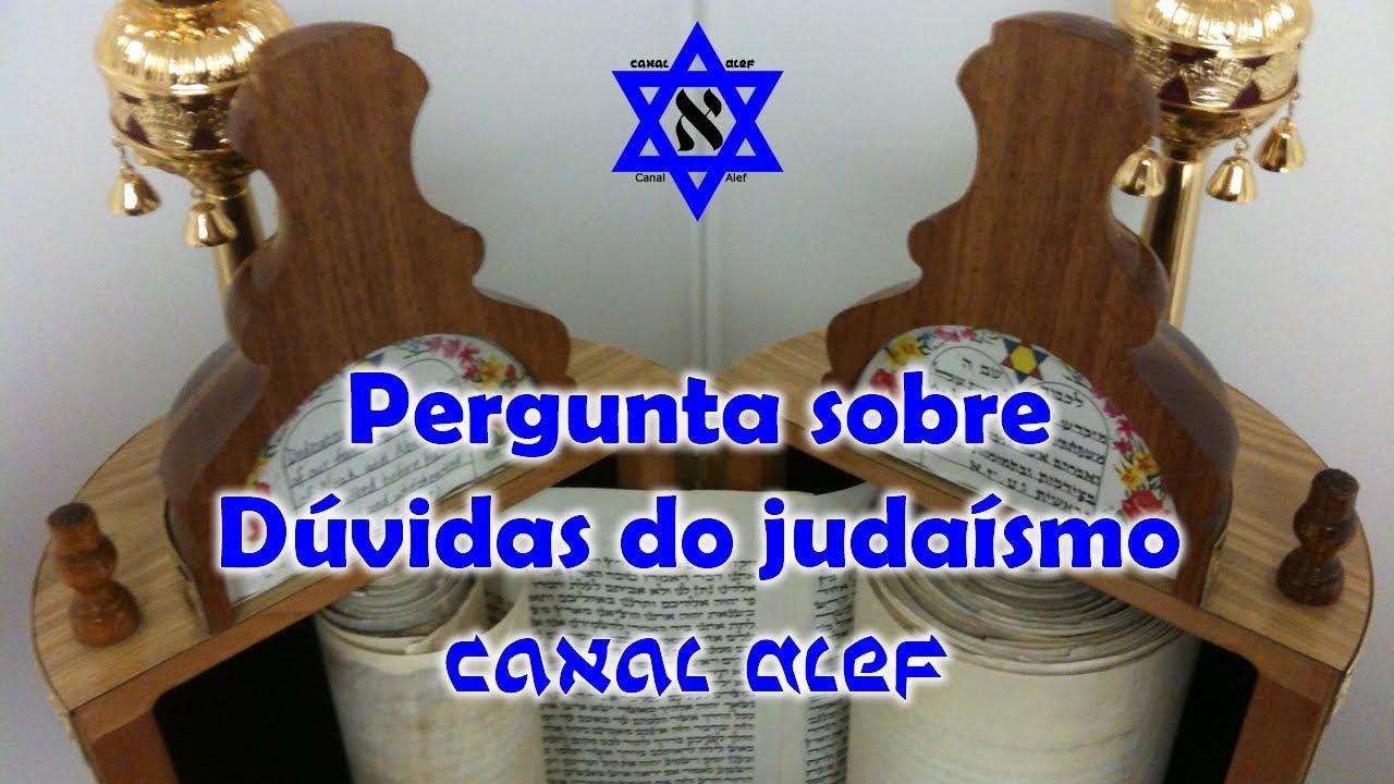 Respostas sobre Dúvidas do judaísmo - 001 - Canal Alef