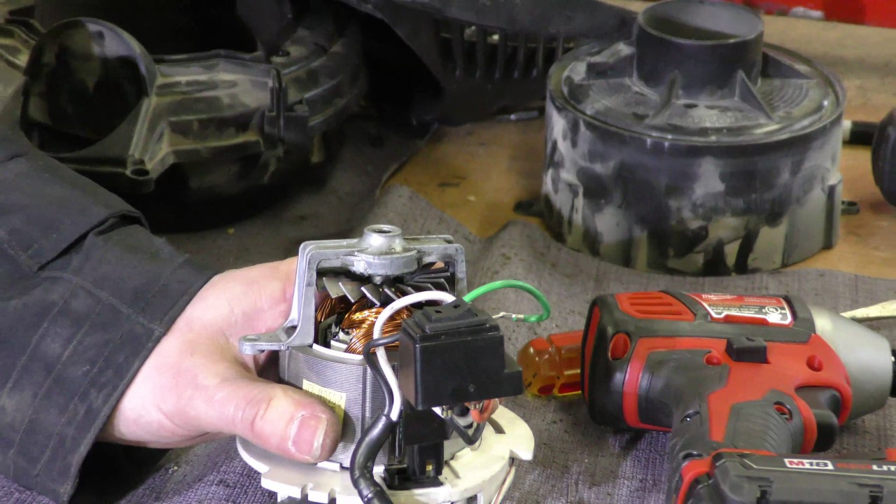 hight resolution of shop vac failure points and what happens when you short out a fuse