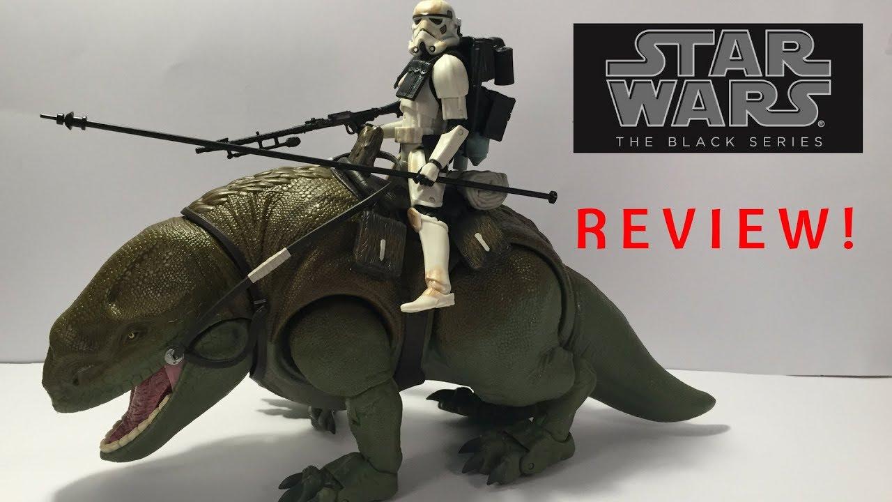 Star Wars The Black Series 6-inch Dewback et Sandtrooper ACTION FIGURE NEW