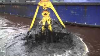 mv cherry sand dredging the river ayr