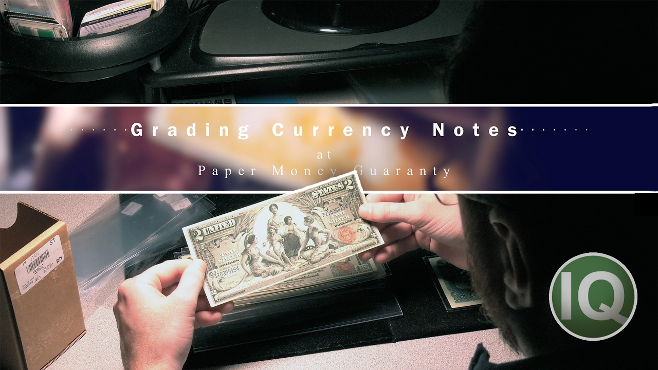 CoinWeek IQ: Grading Currency Notes on Location at PMG - 4K Video