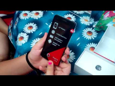 Unboxing Vodafone Smart 4 Turbo