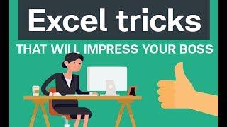 Excel Shortcut Keys, Tricks, Tutorial, Basic Formulas & Functions for Beginners