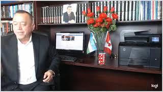 Исмат Хушев билан юзма юз Сиздан келган шикоятлар... 8 сентябрь 2019 йил Канада