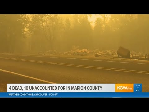 KGW has continuing coverage of Oregon wildfires
