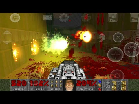 Brutal Doom on Android (D-Touch) Gameplay + Download