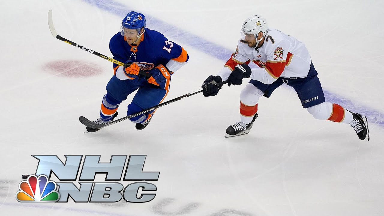 NHL Stanley Cup Qualifying Round: Panthers vs. Islanders | Game 1 EXTENDED HIGHLIGHTS | NBC Sports