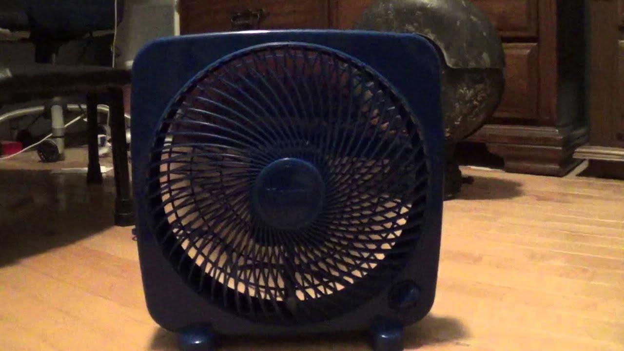Massey Box Fan : Inch massey box fan youtube