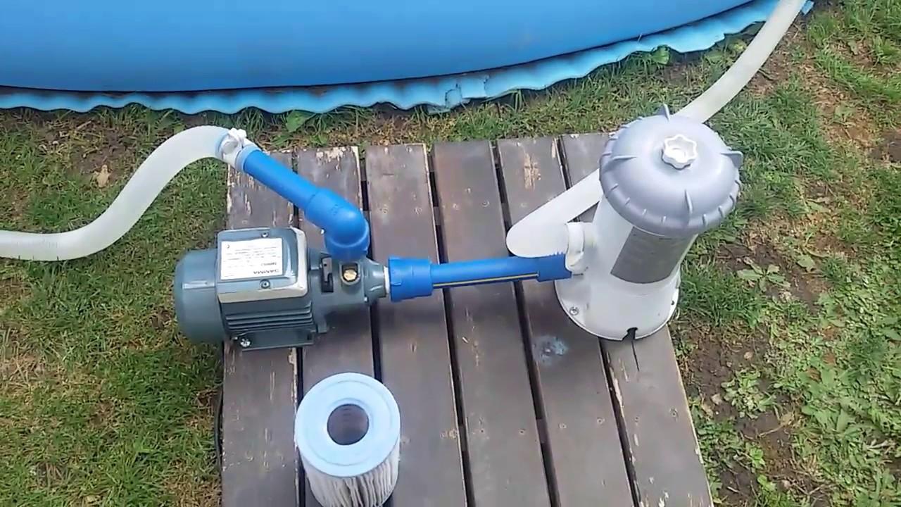 Bomba casera para piletas intex inflable muy buena bomba for Calentar agua piscina casero
