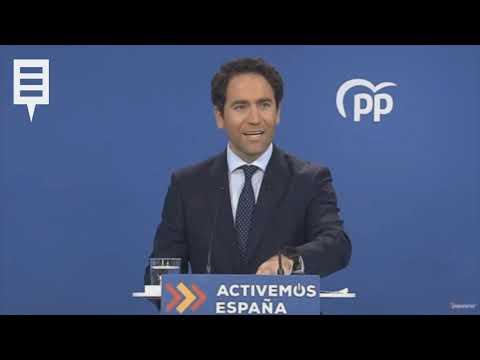 """García Egea denuncia la """"operación clandestina"""" de Arrimadas contra el PP"""