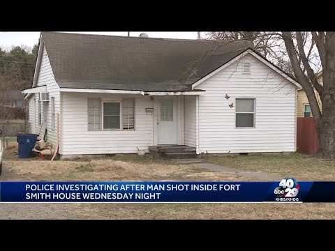 Man shot at Fort Smith home overnight