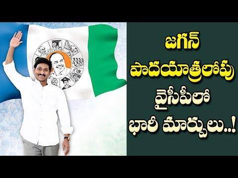 అక్టోబర్ నాటికి వైసీపీలో పెనుమార్పులు,చేర్పులు..!| Rapid Changes in YSRCP Before Jagan Padayatra