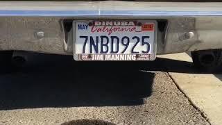 1964 Chrysler 413 idle