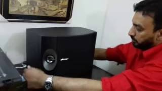 BOSE 301 SERIES V UNPACKING AT DHAKA BANGLADESH