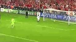 Manuel Neuer schießt Elfmetertor im Finale bei Bayern vs.Chealse
