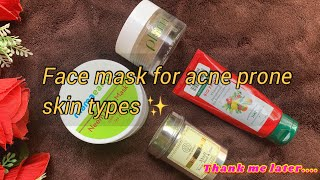My top 5 face mask for oily combination sensitive acne prone skin types Amala Fernando