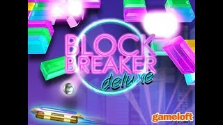 """Block Breaker Deluxe"" - Gameloft (Java Game)"