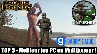 TOP 5 - Meilleur jeu PC en Multijoueur ! (4/5 sont RP)