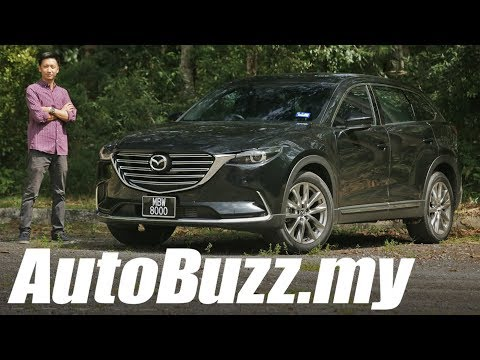 Mazda CX 9 2.5 AWD GVC review AutoBuzz.my
