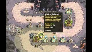 Kingdom Rush - Walkthrough - Final Stage - The Dark Tower - Iron Challenge -