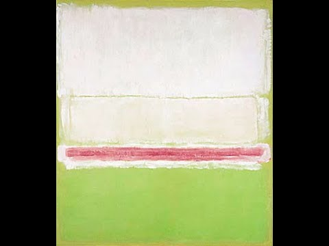 ABSTRACTION MARK ROTHKO ABSTRACTION EXPRESSIONNISME ABSTRAIT PEINTRE ABSTRAIT