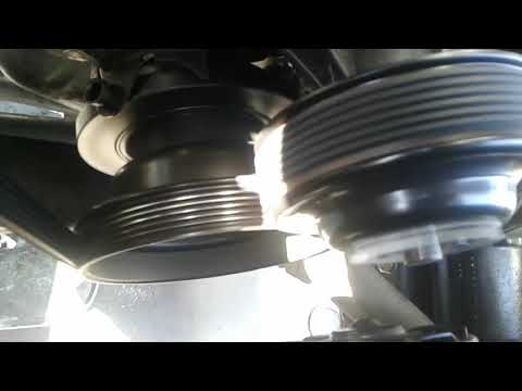 Belt squeak crankshaft pulley wobble Harmonic balancer damper failed broken
