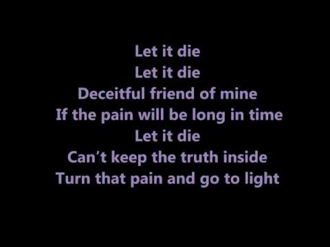PHANTASMA - Let It Die(lyrics)