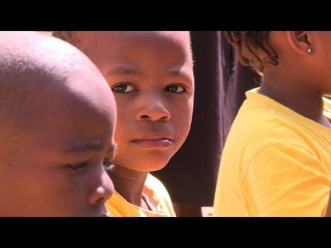 Abandoned mining town provides home to Swazi orphans