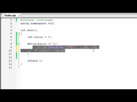 Buckys C++ Programming Tutorials - 18 - while Loops