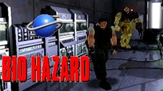 Bio Hazard battle mode playthrough (SEGA Saturn)