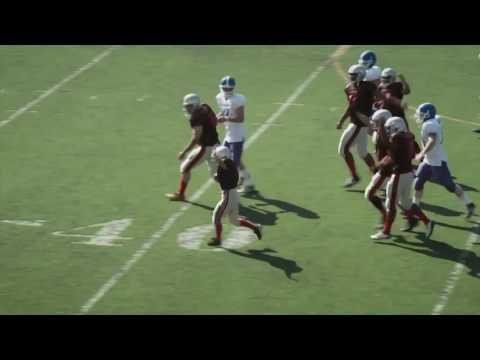 Émouvante vidéo d'un enfant malade qui a pour rêve de marquer un touchdown