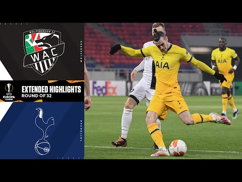 Wolfsberg vs. Tottenham: Extended Highlights | UCL on CBS Sports