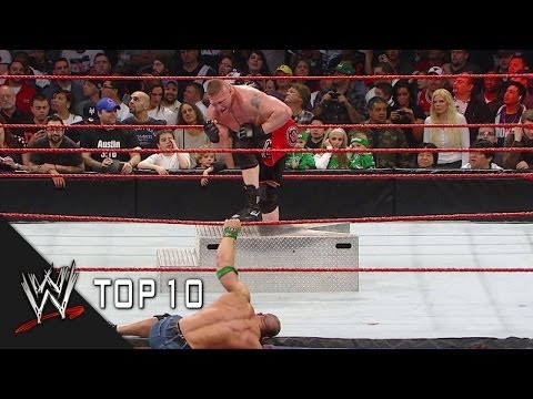 Extreme Rules Most Extreme Moments - WWE Top 10