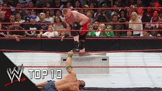 extreme rules most extreme moments wwe top 10