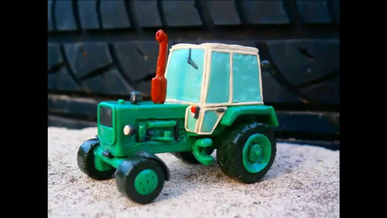 Как сделать трактор игрушечный фото 739