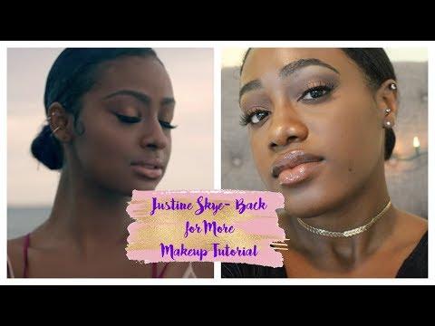 Justine Skye- Back For More | Makeup Tutorial | Amorie Audrey