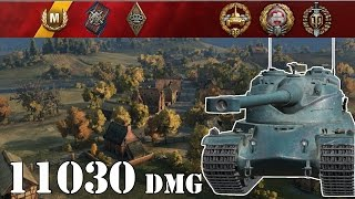 World of Tanks / AMX 50 B .. 11030 Dmg