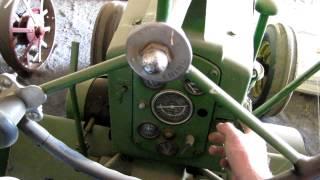 1955 John Deere 70 Diesel Startup