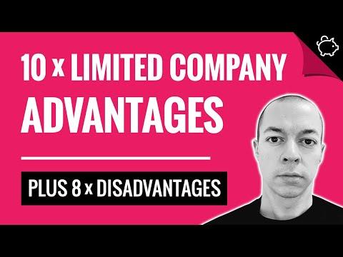 10 x ADVANTAGES of a Limited Company | Starting a Ltd Company UK