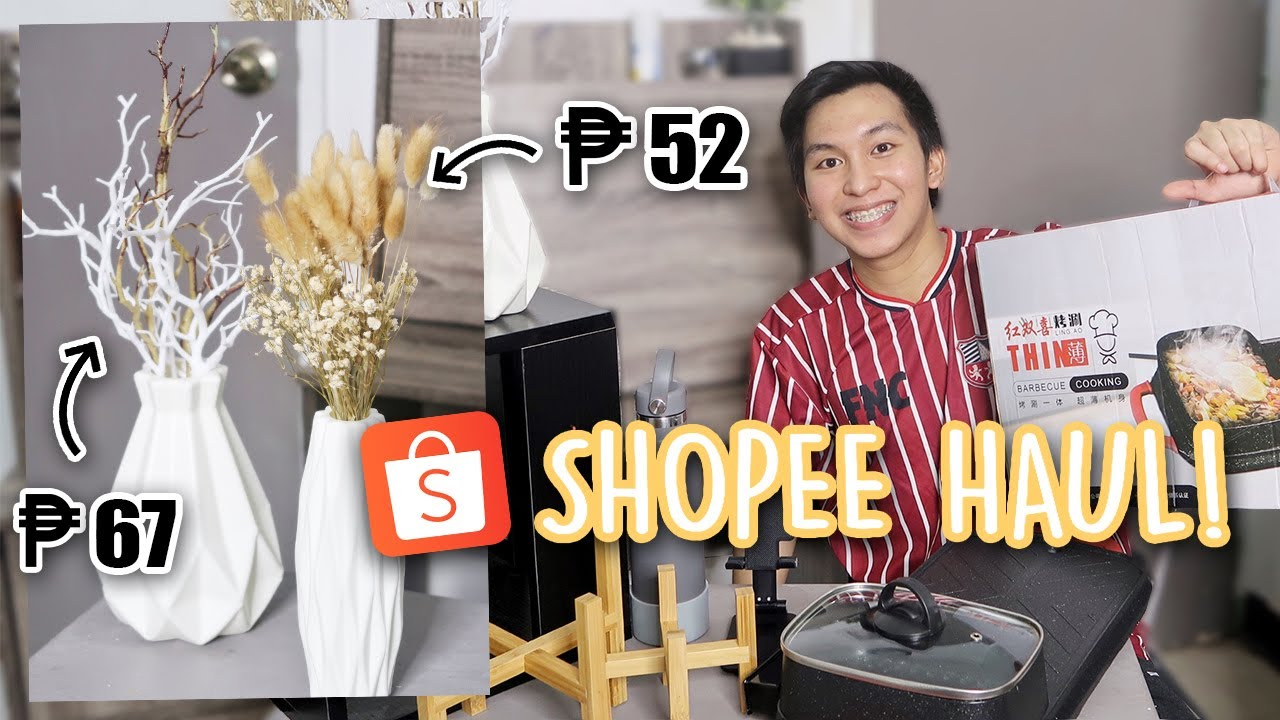 HUGE SHOPEE HAUL! (Room Decor, Furniture, Samgyup Griller, & more!) Be Ready for 9.9 Shopping Sale!