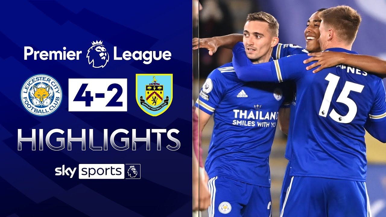 Leicester move top of the league with thrilling victory 💥| Leicester 4-2 Burnley | EPL Highlights