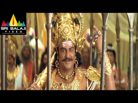 Yamadonga Movie Mohan Babu Action Scene as Yama | Jr NTR, Mamta Mohandas | Sri Balaji Video
