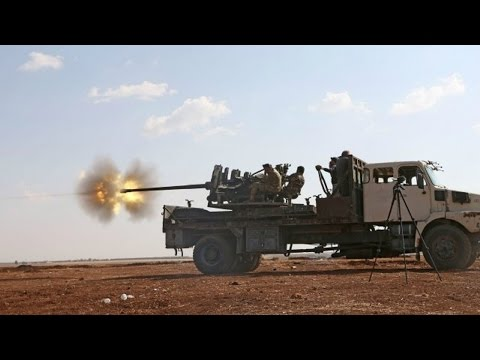 Battle For Syria - Syrian Army relaunches offensive for East Ghouta region