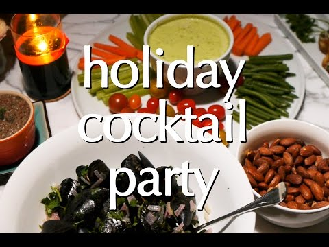 Dinner Party Tonight: Holiday Cocktail Party
