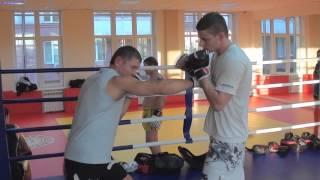 Видеоурок: отработка удара по корпусу (ЦСЕ Чемпион)