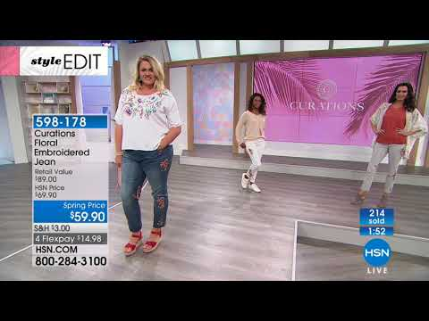 HSN | Curations Fashions 03.15.2018 - 12 PM