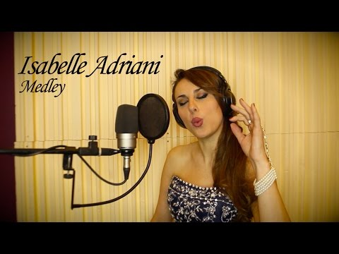 Isabelle Adriani - Tribute 2016 - Medley (Strangers in the Night, Amapola, Moonlight Serenade)