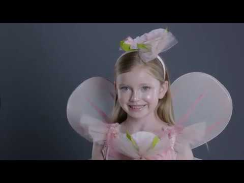 Easy Halloween Makeup Tutorial - Flower Fairy Costume For PbKids